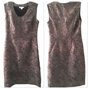 Coldwater Creek Sheath Dress Jacquard Style Size 6